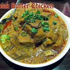 Palak Butter Chicken Recipe