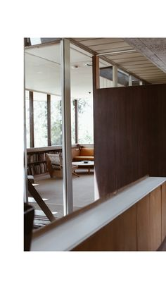 The Dashing Rider - Richard Neutra VDL House Silver Lake Richard Neutra, Wooden Panelling, Interior Styling, Interior Design, Weekend House, Construction, Home Studio, Glass House, Architectural Elements