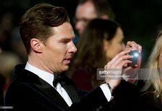 Benedict Cumberbatch attends the German premiere of the film 'The Hobbit: The Desolation Of Smaug' (Der Hobbit: Smaugs Einoede) at Sony Centre on December 9, 2013 in Berlin, Germany.
