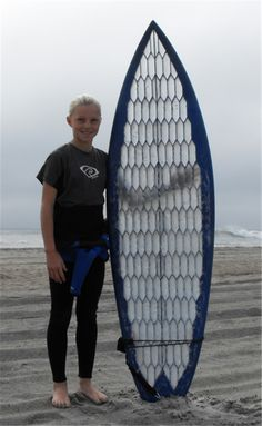 FATHER AND SON MAKERS CREATE A FULL-SIZED 3D PRINTED SURFBOARD | Article - Wed 28 Jan 2015 08:41:24 AM UTC - Microfabricator.com
