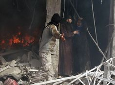 PHOTO: Aleppo, claimed scene of air-strike 30 Jan Syrian Civil War, Human Rights Watch, Aleppo, Bagan, Global News, Human Condition, Nbc News, Pictures, Damascus