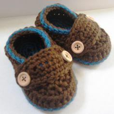 Crochet Baby Booties Organic Cotton! I have to learn to do these!