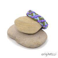 paracord armband violett Paracord Armband, Handmade Bracelets, Braid, Beads, Handarbeit