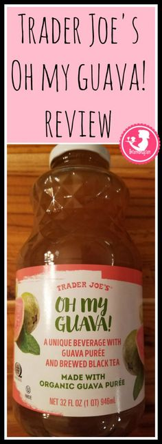 Trader Joe's Oh My Guava review is posted about this subtly sweet drink. As a beverage it's quite tasty. Want to know if this is something worth buying from Trader Joe's? All pins link to BecomeBetty.com where you can find reviews, pictures, thoughts, calorie counts, nutritional information, how to prepare, allergy information, and how to prepare each product.