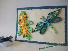Birthday card Quilling card Quilled Birthday Card Paper