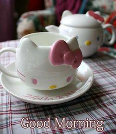 Good Morning Hello Kitty