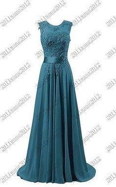 541d3b6b7bc New-Formal-Long-Evening-Ball-Gown-Party-Prom-Bridesmaid-Dress -Stock-Size-6-22