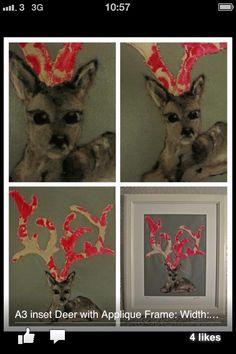 Needle felt deer ewe any wool Curious Creatures, Paper Goods, Needle Felting, I Shop, Deer, Whimsical, Applique, Cute Animals, Wool