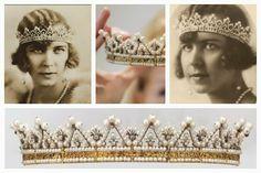 The Queen Marie José Seed Pearl Tiara | A Tiara a Day