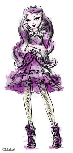 EAH - Raven Queen // http://darth-alinart.tumblr.com/post/101686488112#notes