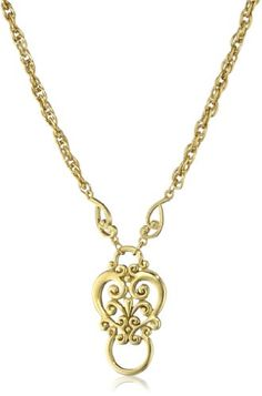 1928 Jewelry Heart Eyeglass Holder Pendant Necklace for only $13.99