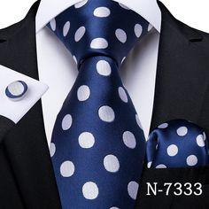 Polka Dot Tie, Blue Polka Dots, Chic For Men, Men's Pocket Squares, Suit Accessories, Wedding Accessories, Suit Up, Mens Silk Ties, Cufflink Set