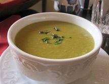 Moroccan Split Pea Bessara - Vegetarian Split Pea Soup or Dip