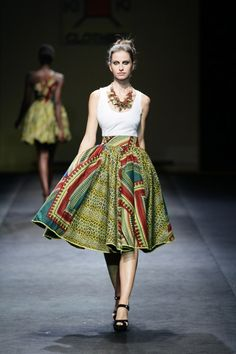 Kiki Clothing at Mercedes Fashion Week