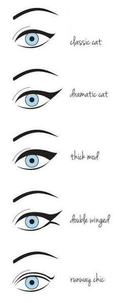 cat eye eyeliner wing it