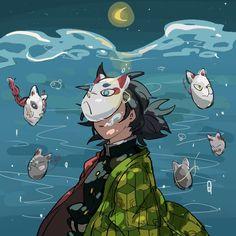 Manga Anime, Anime Demon, Anime Art, Demon Slayer, Slayer Anime, Gamers Anime, Demon Hunter, Another Anime, Blue Exorcist