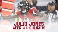 VIDEO:    Panthers vs. Falcons  -    October 2, 2016:  48 - 33, Falcons  -    Julio Jones' 300-Yard Game! | Panthers vs. Falcons | NFL Week 4 Player H...