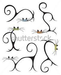 stilize kedi ile ilgili görsel sonucu
