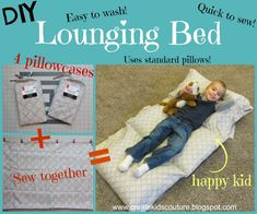 Create Kids Couture: Pillowcase Lounging Bed