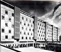 Unidad Habitacional Santa Fe, México DF 1957    Arqs. Mario Pani y Luis Ramos