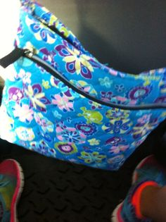 Turquoise bag with skulls from Walmart in geargia