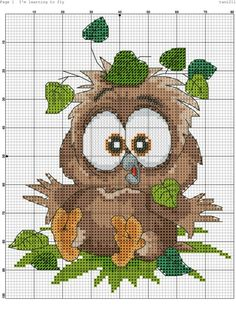 Thrilling Designing Your Own Cross Stitch Embroidery Patterns Ideas. Exhilarating Designing Your Own Cross Stitch Embroidery Patterns Ideas. Cross Stitch Owl, Cross Stitch Animals, Cross Stitch Charts, Cross Stitch Designs, Cross Stitching, Cross Stitch Embroidery, Bird Embroidery, Embroidery Patterns Free, Cross Stitch Patterns