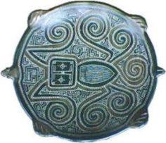 Artisanat moderne à partir de céramiques anciennes, île de Marajó, Pará, Brésil.