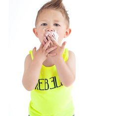 REBELLE Tank Top by Wee Monster.  www.weemonster.net