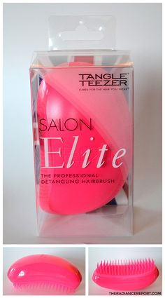 Tangle Teezer review via RadianceReport.com-- @radiancereport #bbloggers #beauty #beautyblogs @tangleteezer