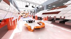 tv set design project and construct by Onder AY, via Behance