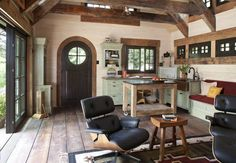 Architecture, Charming Rustic Cottage House Interior Open Space — Charming Rustic Cottage Inspired By Fairy Tales