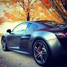 Audi R8 - one of our favourite cars