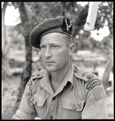 Lieutenant-Colonel B. Hoffmeister (later Major-General), commanding officer of the Seaforth Highlanders of Canada, Sicily, August 1943 Canadian Soldiers, Canadian Army, Canadian History, British Army, British Columbia, Scottish Army, Royal Canadian Navy, Italian Campaign, Man Of War