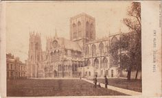 York Minster, South East by William Monkhouse York Uk, York Minster, North East England, Maps Street View, West Yorkshire, Old Pictures, Black And White Photography, The Past, Painting