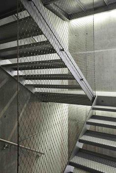 Stainless Steel mesh/ steel stair