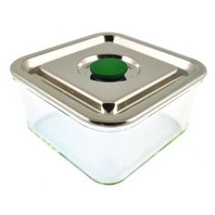 glass food storage with stainless steel lid PRODUCTS Pinterest