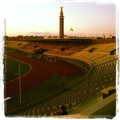 Eavening shot, Olympic stadium Amsterdam