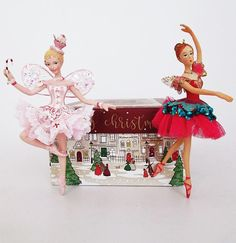 Nutcracker Ballet Sugar Plum Fairy and Clara Christmas decorations available now in our Christmas shop, along with other Nutcracker characters Nutcracker Characters, Disney Characters, Christmas Decorations, Christmas Ornaments, Holiday Decor, Sugar Plum Fairy, Jewel Tones, Christmas Shopping, Disney Princess
