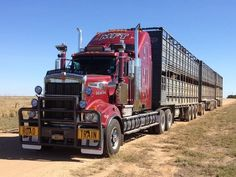 Aussie truck train.