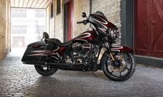 The 2018 Street Glide Special offers top-end touring technology on stripped down bagger style. This is a hot rod custom bagger pushed to redline. Harley Davidson Street Glide, Harley Davidson Road King, 2014 Harley Davidson, Harley Davidson Touring, Harley Davidson Motorcycles, Custom Motorcycles, Custom Bikes, Victory Motorcycles, Custom Baggers
