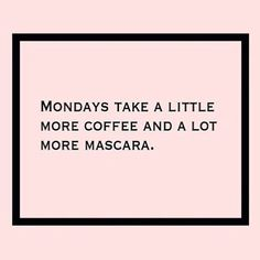 Or a lot and a lot. Who else is struggling this AM? #regram @askachelle