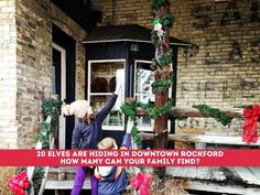 How Many Can You Find? There are 20 Elves Hidden All Over Downtown Rockford for the Holidays - grkids.com Rockford Michigan, Holiday Lights, Holiday Decor, Pump House, Beautiful Streets, Christmas Mom, Family Night, The Elf, Elves