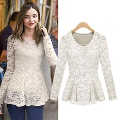 Long Lace Blouse | Fashion Ql
