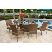 Found it at Wayfair - Grenada 7 Piece Dining Set