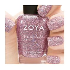 Zoya Lux from the Magical Pixie Collection: NEW Holographic PixieDust Nail Polish Colors - I can't wait to get this!