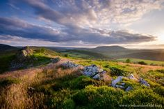 Corndon Hill, Montgomeryshire, by Jordan Mansfield Under Construction, Painting Inspiration, Landscape Photography, England, Mountains, Wales, Artwork, Summer, Prints