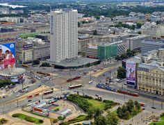 Warsaw Poland, Paris Skyline, Times Square, Nostalgia, Travel, Viajes, Destinations, Traveling, Trips