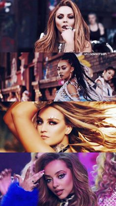 Little Mix from power MV Little Mix Girls, Little Mix Style, Jesy Nelson, Perrie Edwards, Little Mix Leigh Ann, Litte Mix, Celebrity Bodies, Biracial Hair, Mixed Girls