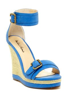 Gimli Wedge Sandal by Michael Antonio on @HauteLook