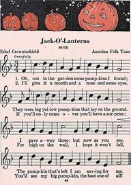 vintage Halloween Sheet Music | vintage printable sheet musicif I ever teach piano lessons my younger students will play this song
